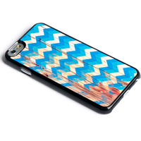 Grunge Chevron on Wood iPhone 6 Case Wooded Native iPhone Case iPhone 5 Case iPhone 5s Case