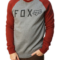 Fox Racing Men's Tresspass Crew Neck Long Sleeve Fleece Sweater