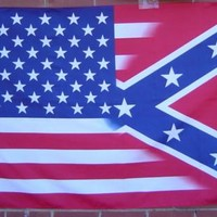 American / Battle Flag Combo