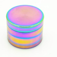 Cool Colourful Metal Zinc Alloy Grinder Tobacco Smoking Cigarette Crusher Spice Muller Pipe Accessories Herb Grinder