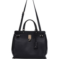 Valentino Piper Medium Leather Satchel Bag