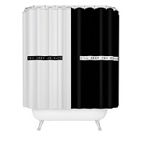 Wesley Bird Safe And Wild Shower Curtain