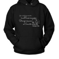 Christopher Robin Winnie The Pooh Quotes Hoodie Two Sided