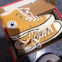 """Converse 1970S"" Unisex Sport Casual High Help Canvas Shoes Couple Classic Cloth Shoes"