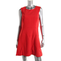Milly Womens Chelsea Knit Sleeveless Party Dress