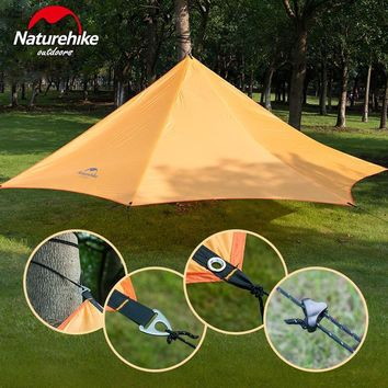 Naturehike Cloud Wing Ultralight Awning Sun-shelter Ultraviolet-proof Rainproof Large Awning For 3-4 Person Camping Tent