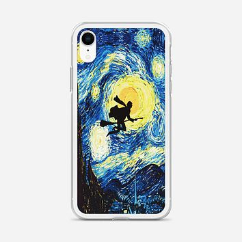 Starry Night With Harry Potter iPhone XR Case