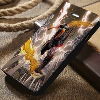 Deathstroke Custom Wallet iPhone 4/4s 5 5s 5c 6 6plus 7 and Samsung Galaxy s3 s4 s5 s6 s7 case