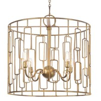 Restoration Warehouse Tito Chandelier - IN STOCK NOW | New Lighting | What's New! | Candelabra, Inc.