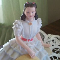 Avon Collectible Scarlett O' Hara Gone with the Wind Collectible Porcelain Figurine Like New Condition