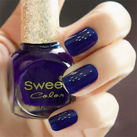 Dark Blue Sweet Color 12 ml Nail Polish from 1Point99.com