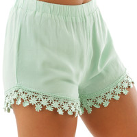 As You Were Shorts: Mint