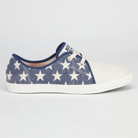 Converse All Star Riff Mens Shoes Parchment/Red/Blue  In Sizes