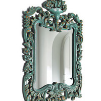 Turquoise Mirror - Horchow