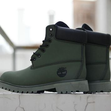 Timberland Woman Men Fashion Casual Snow Boots Calfskin Shoes