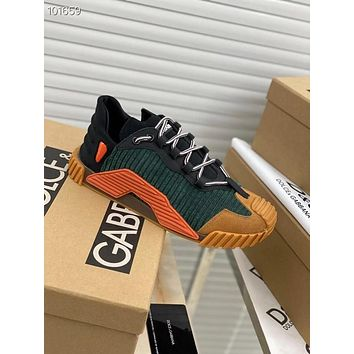 D&G DOLCE&GABBANA Woman's New Fashion Casual Shoes Sneaker Sport Running Shoes 061855