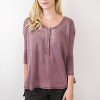 Hard To Chase Henley Top