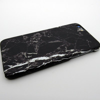 White Black Marble Stone iPhone 5se 5s 6 6s Plus Case Cover + Nice Gift Box 268