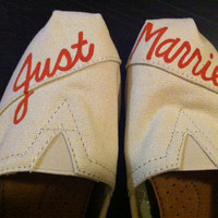 Wedding TOMS by DesignsByMicahInc on Etsy
