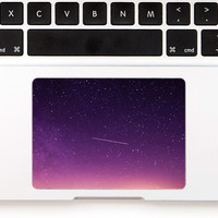 Silent Star Touchpad Sticker with beautiful sky, starfield for Apple Macbook Pro, Pro Retina, Macbook Air Trackpad Sticker Decal Holi