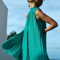 Plenty by Tracy Reese Seaglass Swing Dress in Turquoise Size: