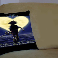 Walt Disney Kingdom Hearts Quotes - Pillow Case, Pillow Cover, Custom Pillow Case **