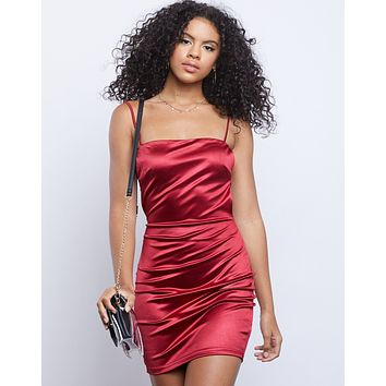 Serena Satin Dress
