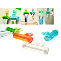 Home Useful Rolling Toothpaste Squeezer and Hanger Gadget Toothpaste Dispenser Random Color High Quality