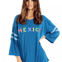 Mexico Jersey Tunic by WILDFOX