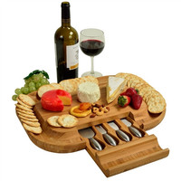 Deluxe Malvern Cheese Board Set
