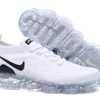 DC-CK N340 Nike Air Vapormax Flyknit 2 Casual Running Shoes White
