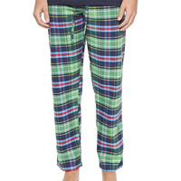 Plaid Two-Piece Pajama Set,