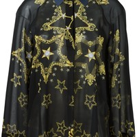 Versace Collection Loose Fit Star Shirt - Profile - Farfetch.com