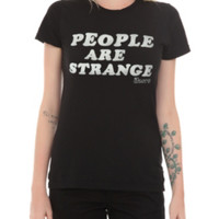 The Door People Are Strange Girls T-Shirt