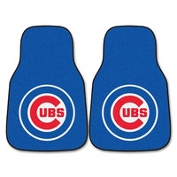 Chicago Cubs MLB Car Floor Mats (2 Front)