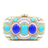 Milanblocks India Embelished Handmade Beaded Clutch