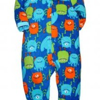 Baby Boy Monster Footie Blanket Sleeper by Little Me