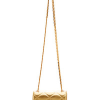 Mini Trouble Quilted Metallic-Leather Bag