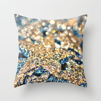 Starry Wishes and Bokeh Dreams... Throw Pillow by Lisa Argyropoulos | Society6
