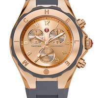 MICHELE 'Tahitian Jelly Bean' Rose Gold Watch, 40mm | Nordstrom