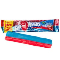 AirHeads Big Bar Taffy Candy - Blue Raspberry and Cherry: 24-Piece Box