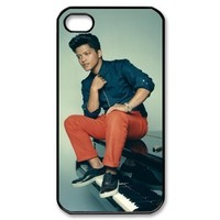 Famous Singer Bruno Mars iPhone 4 4s Case Hard Protective iPhone 4 4s Case
