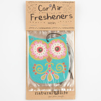 3 Pack Owl Air Fresheners Mint One Size For Women 24919752301
