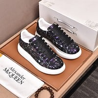 Alexander McQueen2021 Woman's Men's 2020 New Fashion Casual Shoes Sneaker Sport Running Shoes08230wk