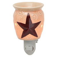 Rustic Star Nightlight Scentsy Warmer