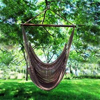 Phat Tommy Hammock Super Soft Hand Woven Polyester Rope Hammock Chair Swing - Outdoor Living Showroom