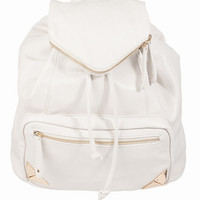 Accents Tipped In Gold Backpack $68