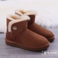 DCCK 'UGG' Women male Fashion Wool Snow Boots