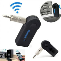 Bluetooth AUX Audio 3.5MM Jack Music Receiver Car Kit Wireless Speaker Headphone Adapter Hands Free For Xiaomi iPhone 7