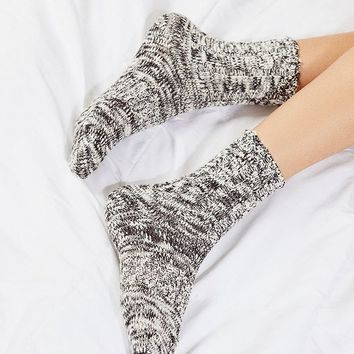 Out From Under Essential Camp Sock   Urban Outfitters